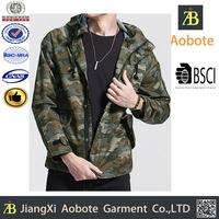 Urban Fashion OEM Man Camo Softshell Jacket