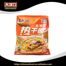 Green healthy delicious instant lye water noodles