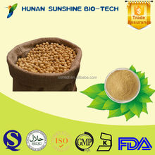 Soybean Extract Isoflavones 40% Powder Form And Solvent Extraction Type