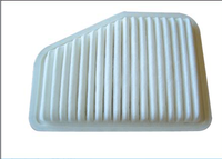 cheap price and high quality of auto spare parts for car daewoo of factory sale of air filters with PU material oe: 92066873