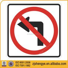 circular informative traffic sign, street sign, parking sign