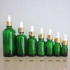 Essencial garrafa de vidro de óleo