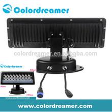DMX LED Flood light, IP67 waterproof natural white 30W single pixel LED flood light, artnet controllable Madrix compatible