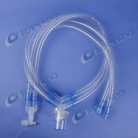 Disposable PVC Medical Breathing Circuit Water Trap For Adult Pediatric