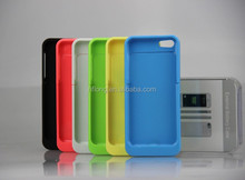 Top Selling 2200mah Extended Battery Case for iPhone 5C 5 5S Fast Shipping