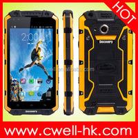 V9 discovery IP68 Waterproof shockproof smart phone MSM8212 Quad Core 5.5 inch 1GB RAM 16GB ROM