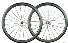 en standard carbon clincher dimple rim 45mm 700c road bike clincher aero spoke dimple wheelset 25mm width