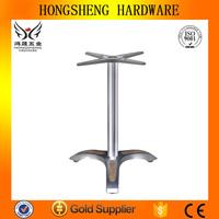 Cast aluminum table base wrought iron garden furniture table leg bracket