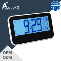 Manufacturer Top Grade Professional Rectangular Shape Retro Flip Down Clock