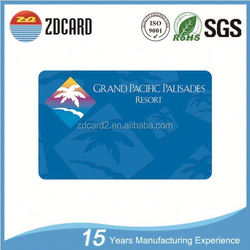 Excellent quality ultralight magnetic card frosted smart