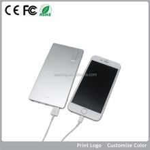 VPB-J027 2015 Hot Sale 5500mAh/6000mAh metal power bank, 5500mAh power bank portable charger
