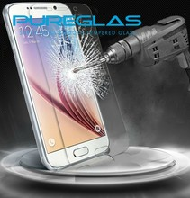 Pureglas hot sale 0.3 mm 2.5d tempered glass screen protector with design for samsung galaxy s5 mini