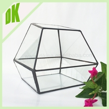 long-standing tradition Large Decorative Unscented Tea Light Candles - geometric glass oriental candle holder