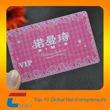 Plastic magic the gathering cards made in China, plastic VIP card with qr code/magnetic strip