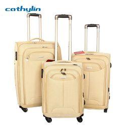 2013 new design popular four wheels super light luggage