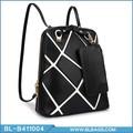 fresh design elegante do plutônio de couro mochila de compras online