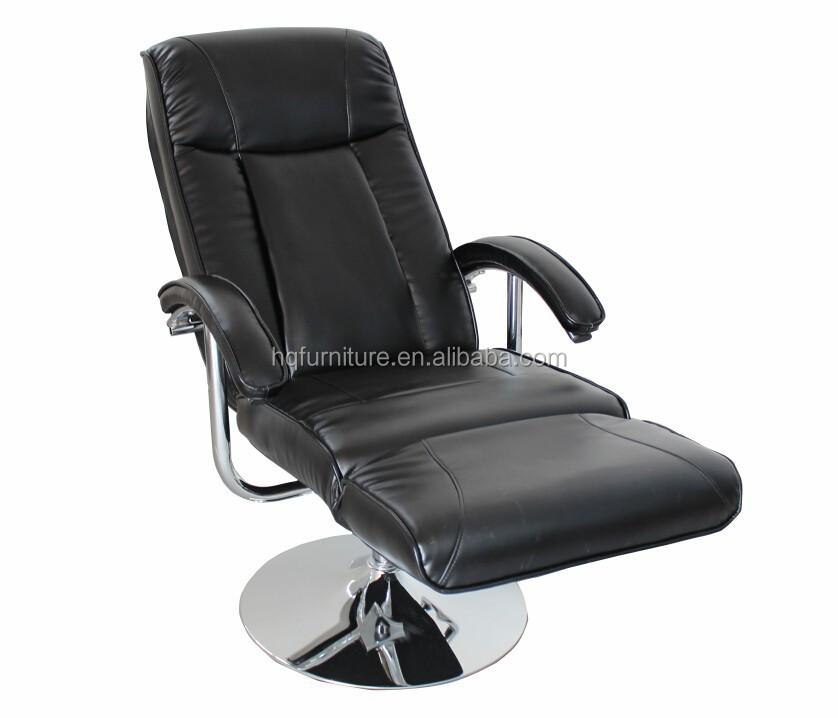 hq 6008 genuine leather swivel rocker recliner chair