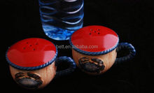fashion custom ceramic decoration bottles peppers