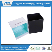Popular custom square cardboard gift box paper taper candle packaging boxes in Dongguan