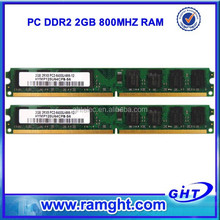 Lifetime warranty 800mhz pc2-6400 8bits cheap ddr2 ram 2gb