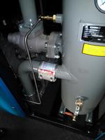 Air compressor pipe coupling