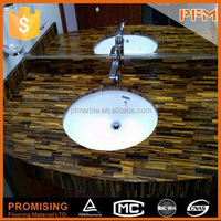 well polished natural wholesale faux marble dining table