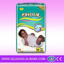 OEM Disposable Soft Baby diapers for baby made in China manufacturer