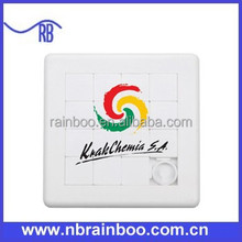 Hot selling Customized Promotional plastic slide puzzle ABGS113