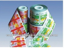2012 hot sale packaging heat resistant plastic film