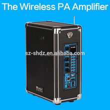 2015 New products power mixer professional amplifier with usb/sd/fm/eq drivers and horns fiber optic signal amplifier