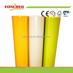 Furniture Films Type and Embossed,Frosted / Etched Surface Treatment pvc film uv