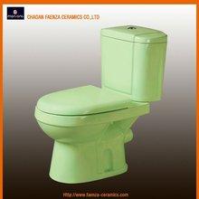 green color toilet/bathroom set
