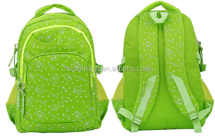 Good printing imported bags for high school girls