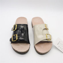 Export to Europe new mens sandals styles first grain leather upper sandals
