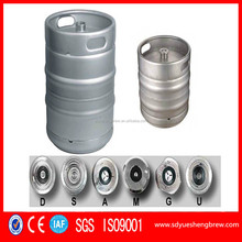 20L/30L/50L Stainless Steel Beer Keg with A/S/G/D Type Spare , Beer Barrel