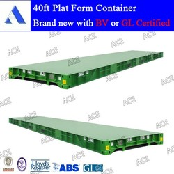 Platform container 20ft 40ft for sale