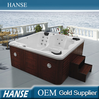 HS-B3312M hydrotherapy spa baths/spa massage/outdoor hot spa