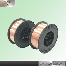 AWS 5.18 ER70S-6 0.8mm/0.9mm/1.0mm/1.2mm Co2 gas-shielded low residue soldering copper alloy weld wire