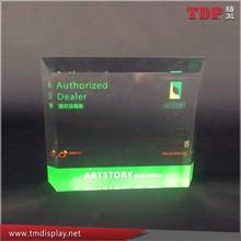 High Quality Acrylic Brand Block