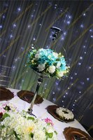 Least Glass candle holder for Wedding table centerpiece decoration