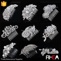 Wholesale Wedding hair accessories Bridal Hair comb rhinestones hair piece