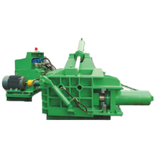 Horizontal Hydraulic Driven Waste Plastics Recycling Metal Baling Machine