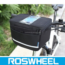 Hot sale waterproof bicycle travel handlebar bag with high density fabric 11812 weekend travel bag with shoes compartment