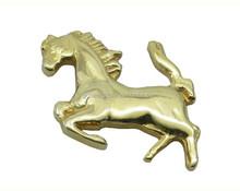 custom animal badge mustang badges 3d badge metal crafts