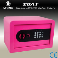 Mini colorful electronic digital safe box for kids keep money or diary