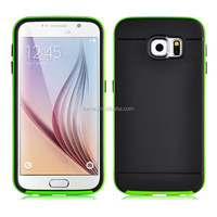 Shockproof Cover Hybrid PC Frame + Silicon Back Case for Samsung Galaxy S6