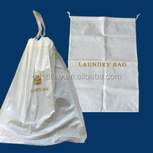 Laundry Packing Drawstring Plastic Bag
