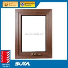 Aluminium extrusion profile framed hand-crank window