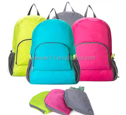 High-quality Travelling Foldable Backpack Hiking Storage Back Bag Multi-functional Fold Shopping Bag