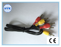 3RCA to 3RCA RCA cable/audio cable